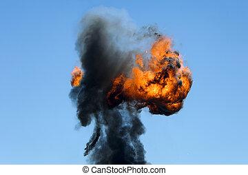 groot, industrieel vuur