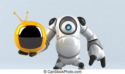 groot, robot, -, 3d animatie