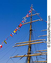 groot schip, mast