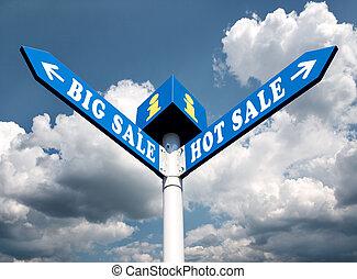 groot, verkoop