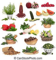 groot, voedingsmiddelen, verzameling