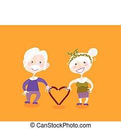 grootouders, liefde