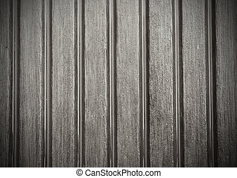 Grooved wooden plank surface detail - Grey wooden plank...