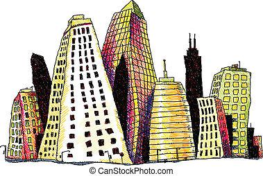 groovy, gebouwen