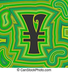 groovy, geld, -, groene, yen