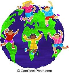 Groovy Globe - groovy kids around the globe