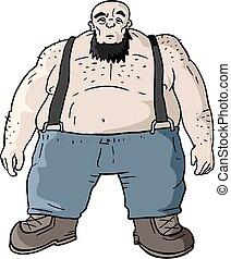 gros homme