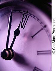 gros plan, horloge