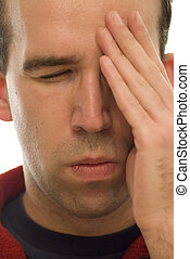 gros plan, migraine