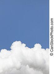 gros plan, nuage