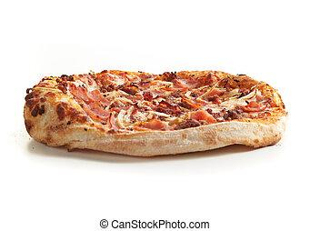 gros plan, pizza