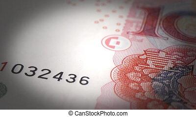 gros plan, yuan