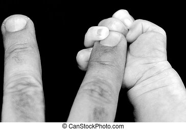 grossesse, bébé, -, parenting