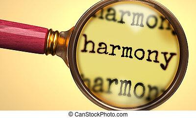grossir, plus proche, explorer, mot, harmonie, symboliser, ...