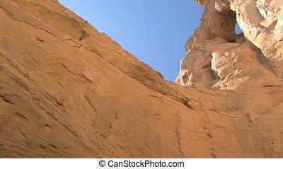 Grosvenor Arch, Grand Staircase Escalante National Monument, Utah, pan
