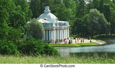 Grotto. Pushkin. Catherine Park. Tsarskoye Selo.