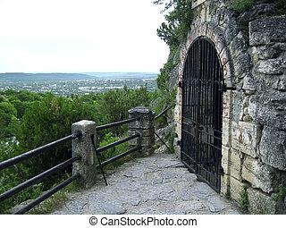 grotto., pyatigorsk., caucas, llermontov's