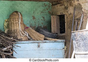 Ground floor of a village house
