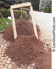 Ground Sieve for Botanical Garden.