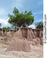 Ground subsidence
