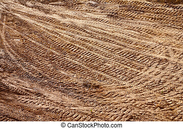 ground texture with tracks