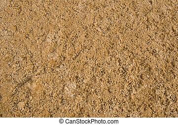 Ground with salt in Sahara