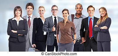 group., ビジネス 人々