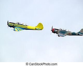 Group aerobatics
