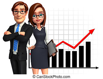 Group business people in office. - Illustration of group...