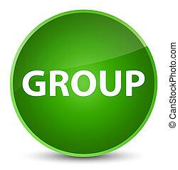 Group elegant green round button