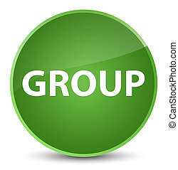 Group elegant soft green round button