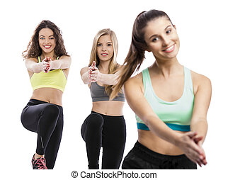 Group exercise classes