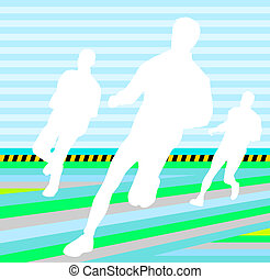 group footrace