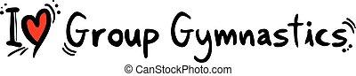 Group Gymnastics love