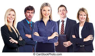 group., handlowy zaludniają