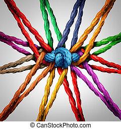 Group Holding Together - Group holding together as different...