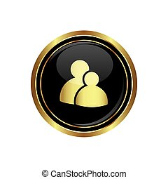 Group icon on the black