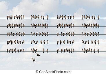 Group Management - Group management business concept as a...