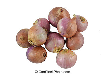 Group of a onions,