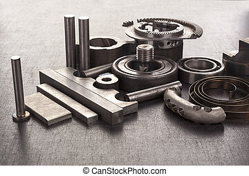 Group of bolts and mechanical components