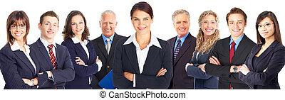Group of business people. - Group of business people team....