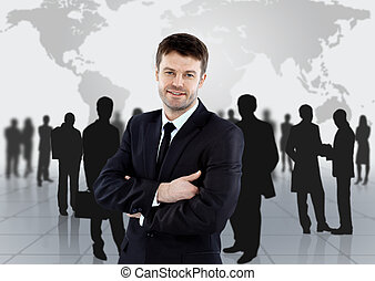 Group of business people