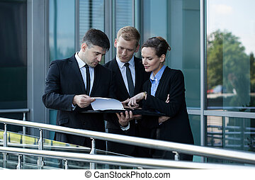 Group of businessman