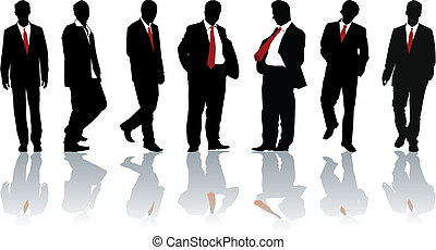 Group of businessmen