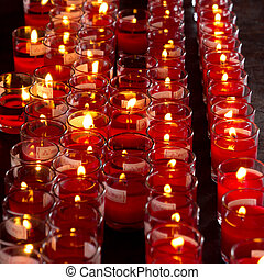 Group of candle light