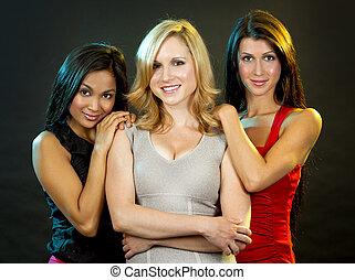 group of classy women