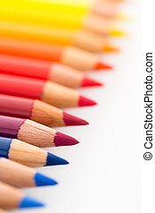 Group of Colour pencils