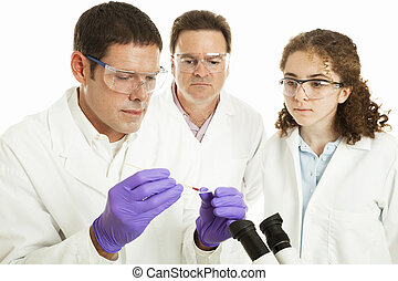 Group of Forensic Scientists