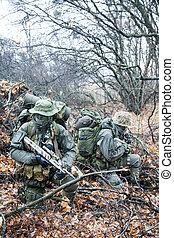 Group of jagdkommando soldiers