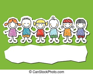 group of kids